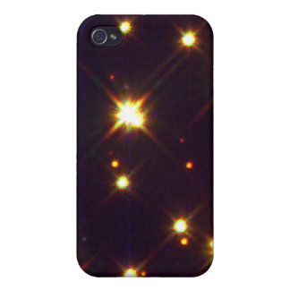 White Dwarfs Amid Sun-Like Stars and Red Stars iPhone 4 Covers