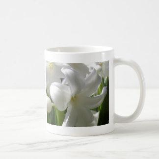 White Easter Lilly Coffee Mug