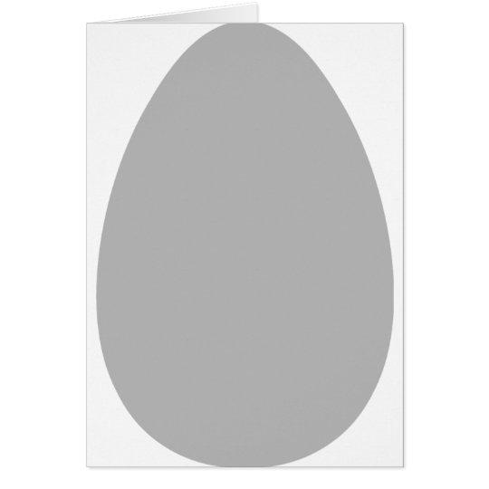 white egg card