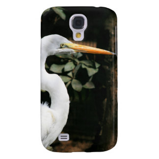 White Egret Case for iPhone 3G/3GS Galaxy S4 Case