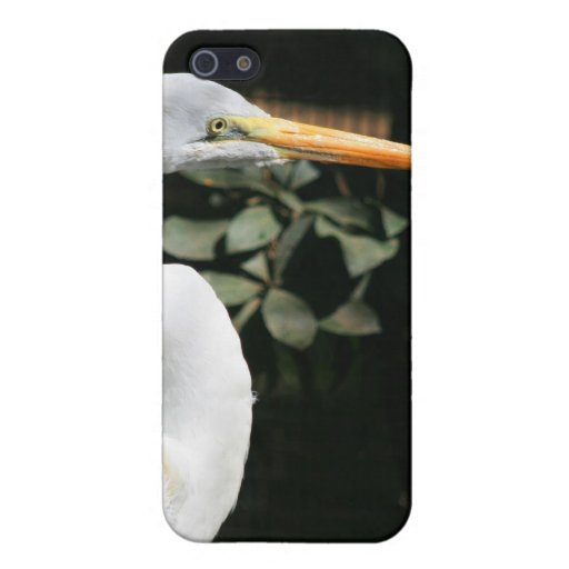 White Egret Case for iPhone 4