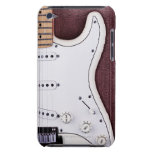 White Electric Guitar 2 iPod Touch Cover