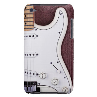 White Electric Guitar 2 iPod Touch Covers