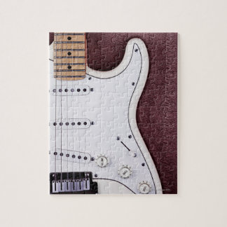 White Electric Guitar 2 Jigsaw Puzzle