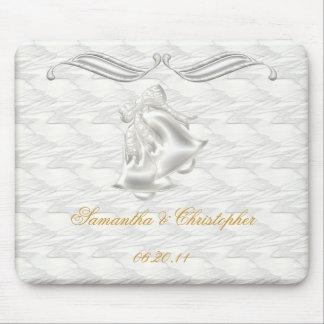 White Elegance #1 Mouse Pad