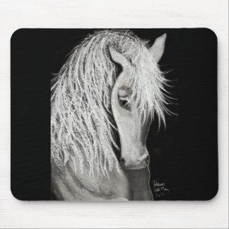 WHITE ELEGANCE - Mousepad