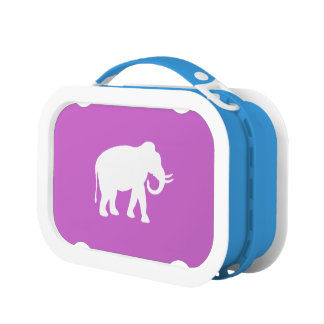 White Elephant Lunch Box
