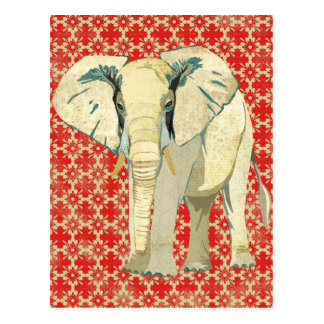 White Elephant Postcard