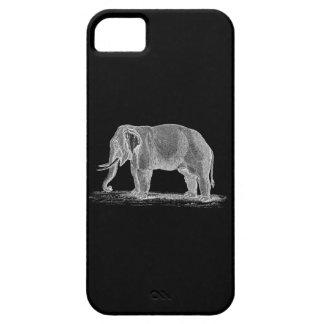 White Elephant Vintage 1800s Illustration iPhone 5 Cases