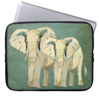 White Elephants Computer Sleeve