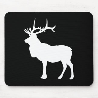 White Elk Mouse Pads
