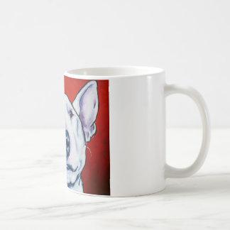 White English Bull Terrier Coffee Mug