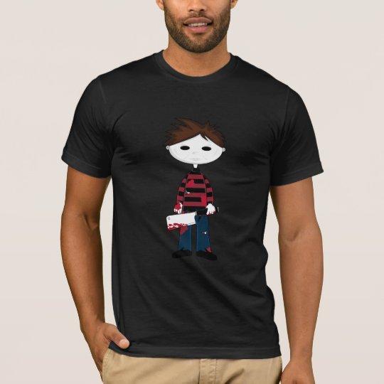 White Face Serial Killer T-Shirt