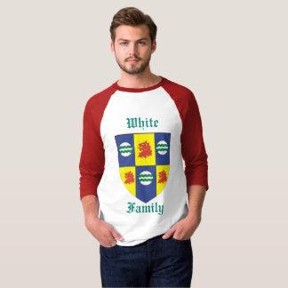 WHITE Family Crest (Sir John White) Rev Adam White T-Shirt