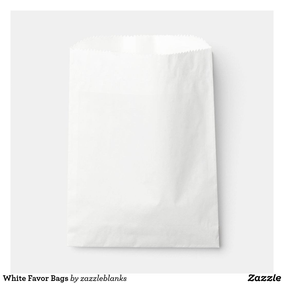 White Favour Bags