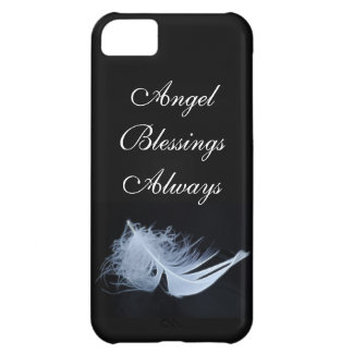 White feather - angelic by nature iPhone 5C case