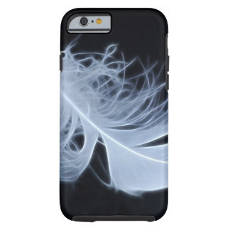 White feather - angelic by nature tough iPhone 6 case