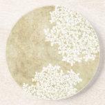 White Floral Vintage