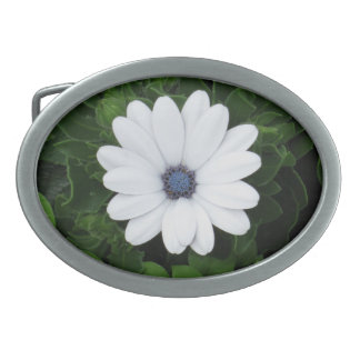 White Flower belt buckle