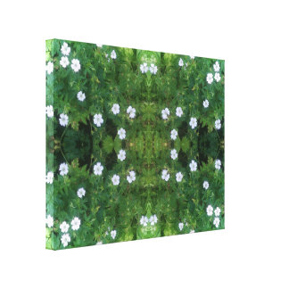White Flower Fractal Summer 2016 Canvas Medium