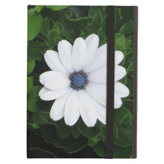 White Flower iPad case