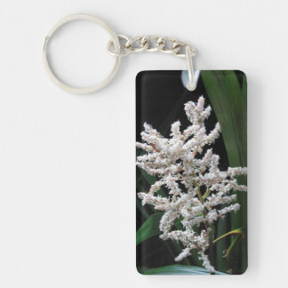 White Flower - Keychain