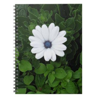 White Flower notebook