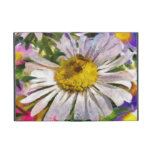 White flower painting
