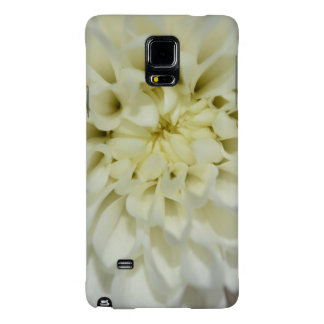 White Flower- Phone Cover Galaxy Note 4 Case