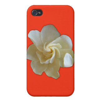 White Flower Speck Case iPhone 4 Case