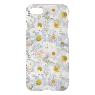 White Flowers Bouquet Floral Wedding Bridal Spring iPhone 8/7 Case
