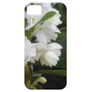 white flowers iPhone 5 cover