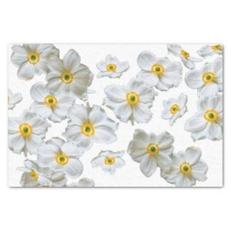 White Flowers Gift Tissue Paper