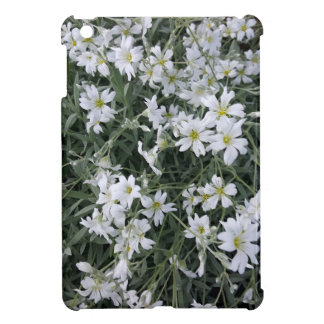 White flowers iPad mini covers