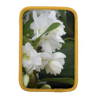 White Flowers iPad Mini Sleeve