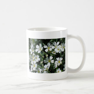 White Flowers on a Bright Day Coffee Mug