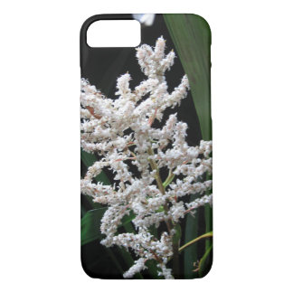White Flowers - phone case