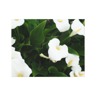 White Flowers Photo Print