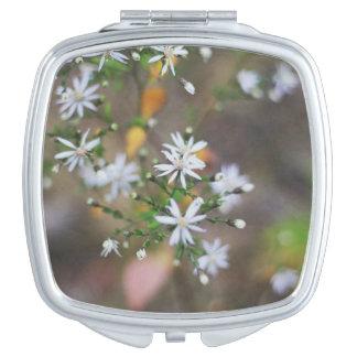 White Flowers! Vanity Mirrors