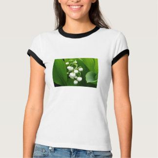 White Flowers Woman T-shirt