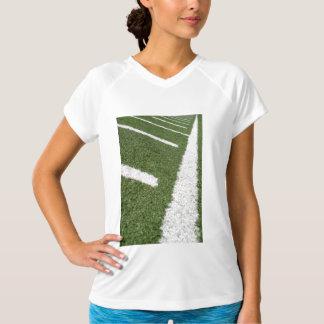 White Football Lines T Shirts