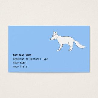 White Fox. Business Card