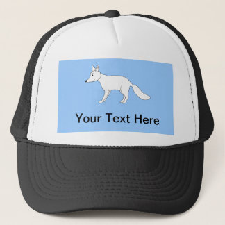 White Fox. Trucker Hat