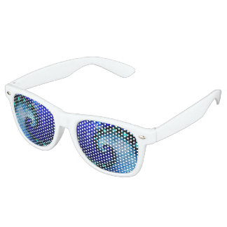 White Fractal Party Shades -- Nocturne of Scorpio