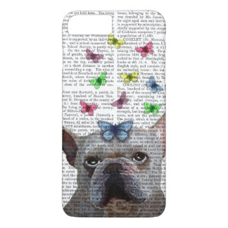 White French Bulldog and Butterflies iPhone 8 Plus/7 Plus Case