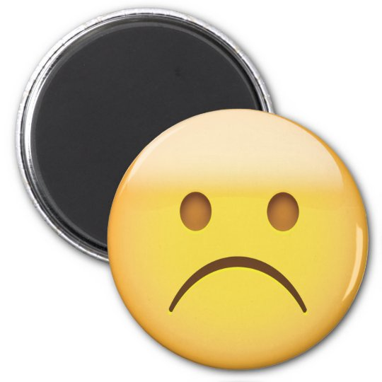 Frowny face emoji