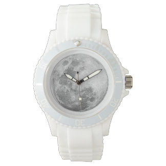 White Full Moon Watch