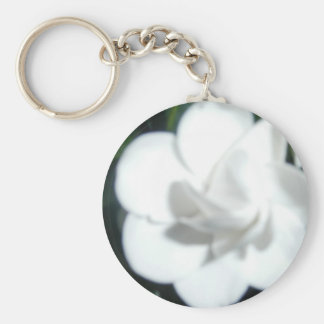 White Gardenia products Keychain