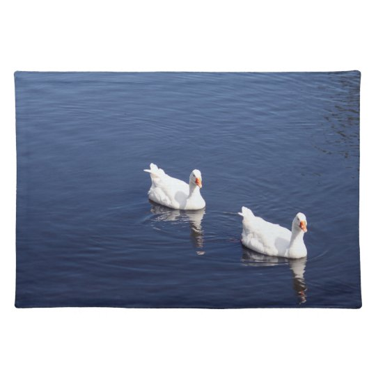 White Geese 9602 Place Mats