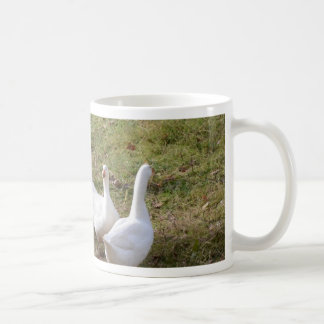White Geese Coffee Mug